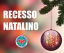 A Câmara Municipal estará fechada nos dias 24 e 25 de dezembro.