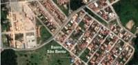 Atendendo a comunidade é nomeado o bairro São Bento.