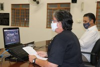 Em reunião virtual vereadores recebem do Prefeito o Relatório de Assuntos Municipais.