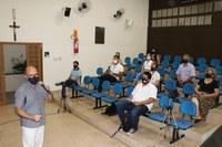 Inclusão e desenvolvimento comunitário são temas na Escola do Legislativo.