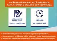 Retomados os serviços do Centro de Atendimento do Cidadão.