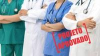 Valorização dos profissionais da Saúde.