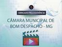 3ª Sessão Extraordinária da Câmara Municipal de Bom Despacho/MG - 09/04/2021