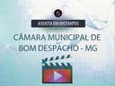 Primeira Sessão Especial da Câmara Municipal de Bom Despacho MG 05-04-2021